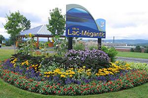 Entrée de la ville de Lac-Mégantic