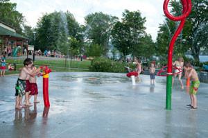 Jeux d'eau OTJ