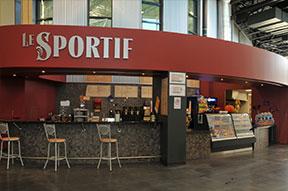 Restaurant Le Sportif du Centre sportif Mégantic