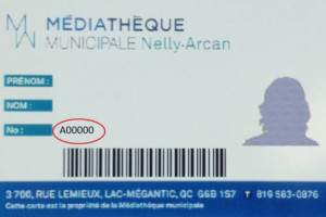 Pour accéder à votre compte personnel de la médiathèque il faut préalablement connaître son numéro d'abonné (soit le numéro A00000 qui est inscrit sur votre carte d'abonnement) ou l'adresse courriel qui est inscrite dans votre dossier.