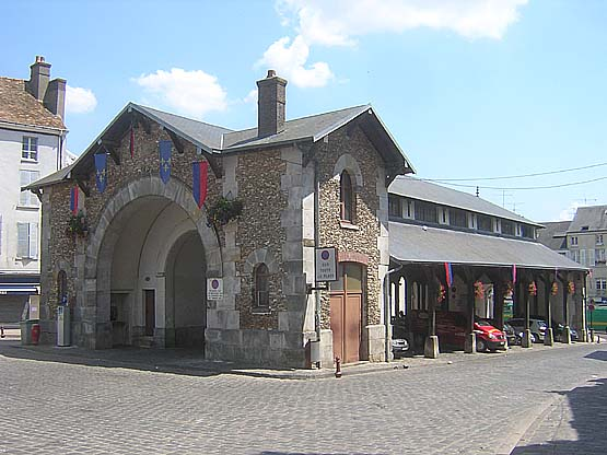 Grande halle de Dourdan