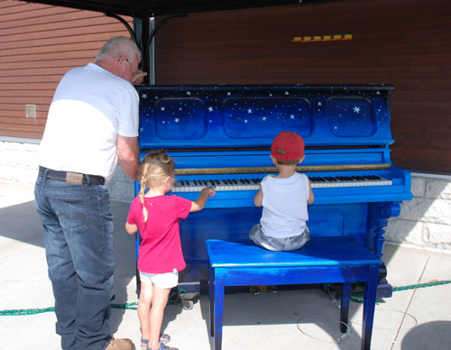 Piano public Lac-Mégantic