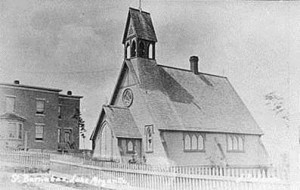 Église St-Barnabas vers 1910