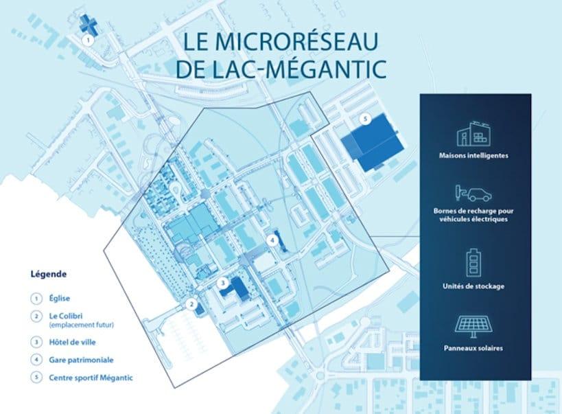 Microréseau Lac-Mégantic